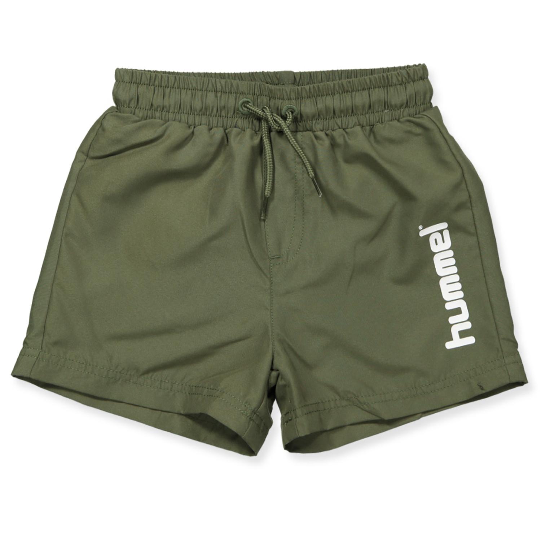 5a15b5ba9 Hummel - Bay UV 50 swim shorts - SPICY ORANGE - Orange