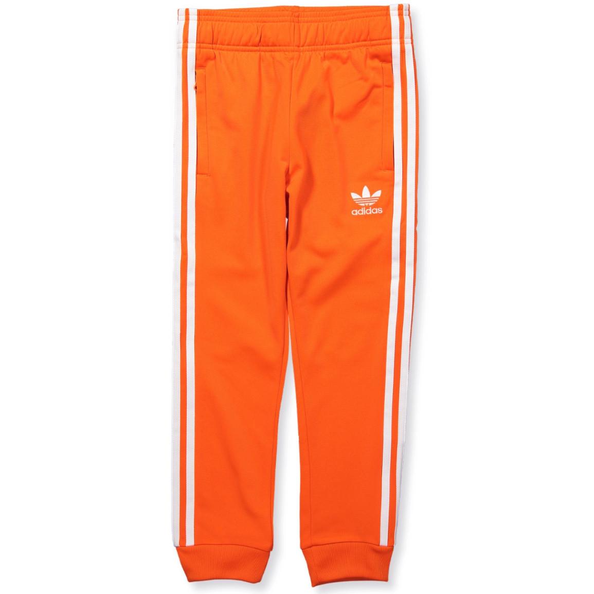 adidas pants orange