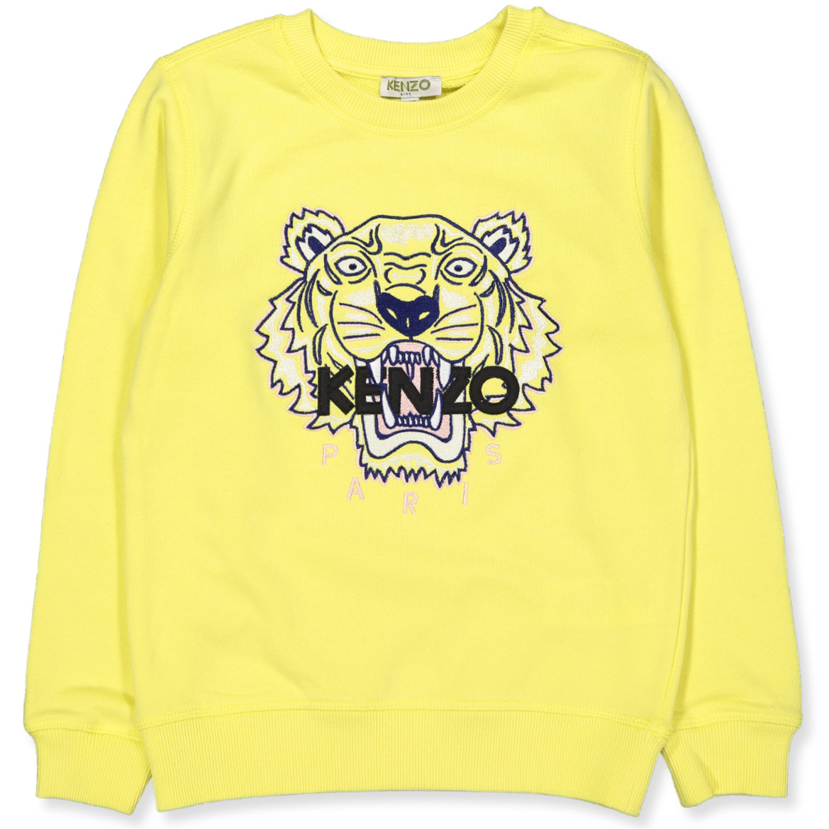 Kenzo Kids - Tiger sweatshirt - YELLOW - Yellow