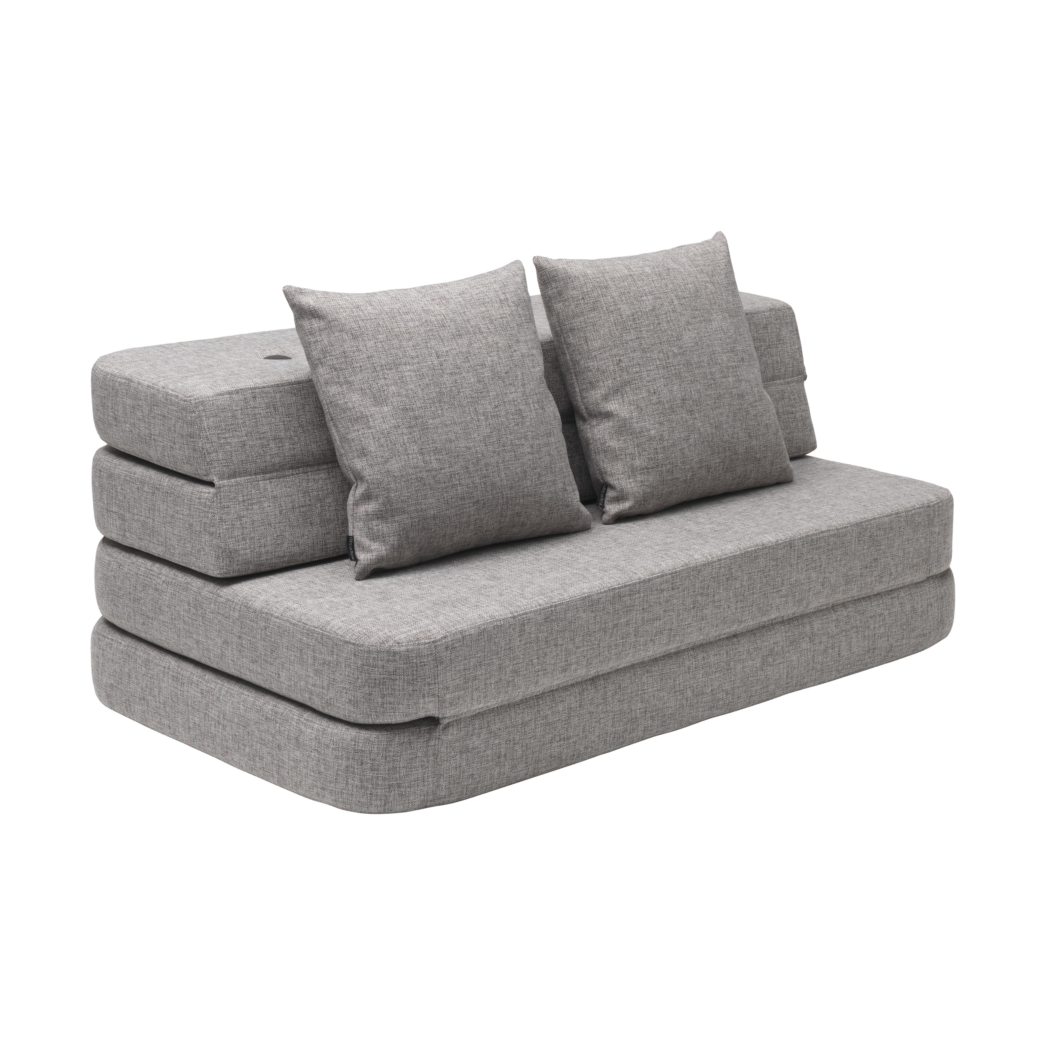 By Klipklap 3 Fold Xl Couch Multi Grey