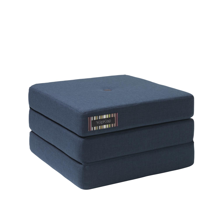 By Klipklap 3 Fold Single Mattress Dark Blue