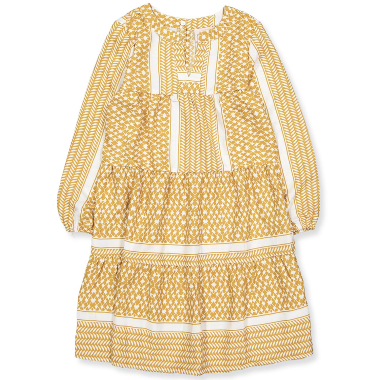 Kids Only Alberte Dress Cloud Dancer Yellow