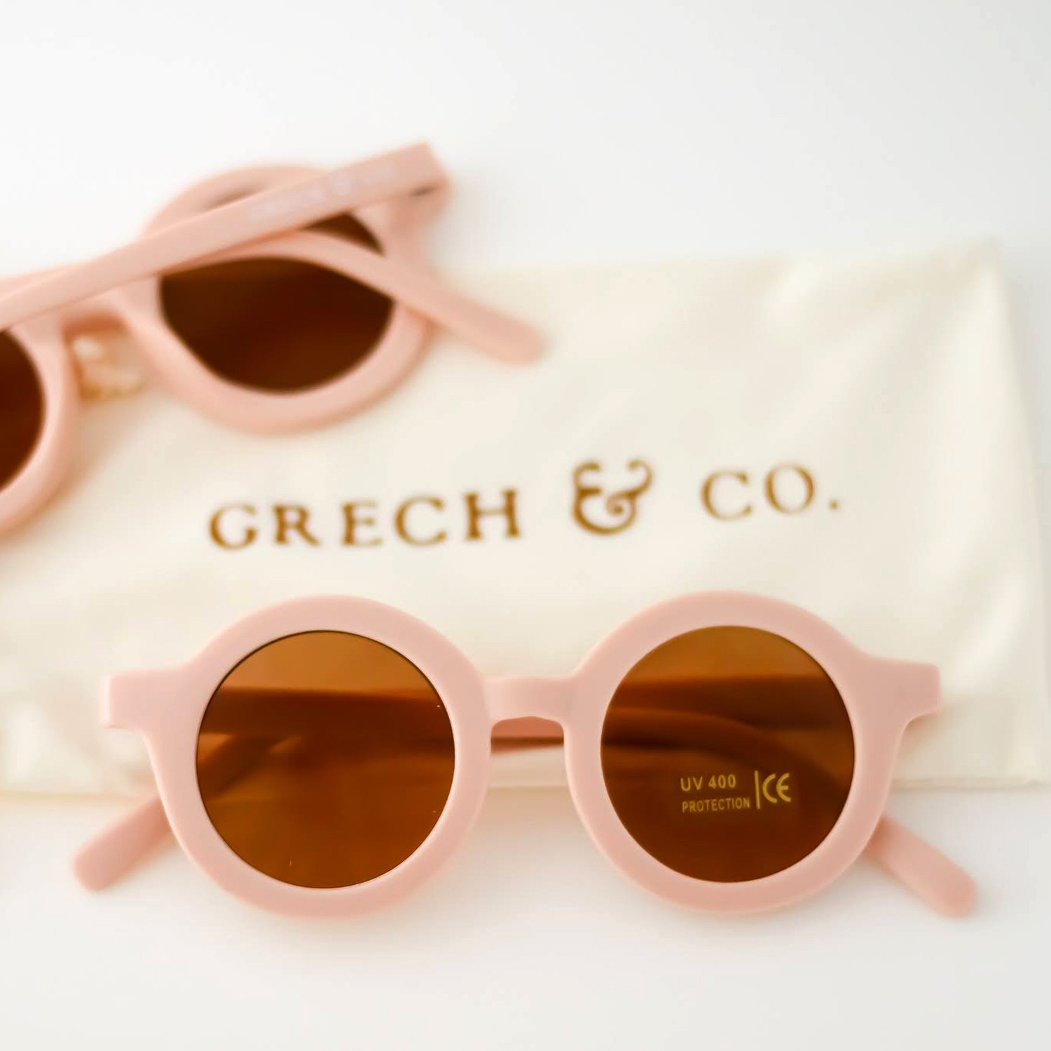 Grech Co Sustainable Sunglasses Shell Shell
