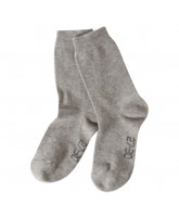Grey melange socks