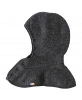 Grey winter wool balaclava
