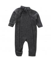 Grey winter wool playsuit