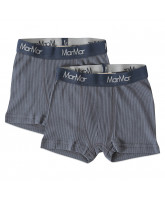2 pack ombre blue rip boxer shorts