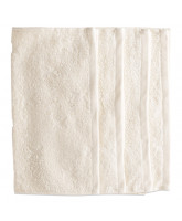 Offwhite organic 4 pack washcloth