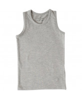 Grey melange top - boy