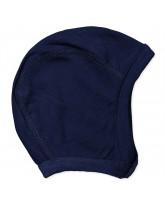 Navy bamboo baby hat