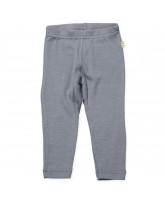 Grey wool/silk leggings