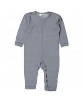 Grey wool/silk playsuit