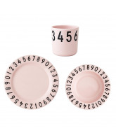 Numbers dinner set in giftbox