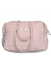 Rose organic quilted bag