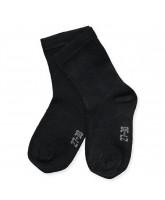 Black bamboo socks