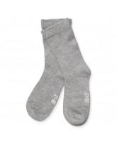 Grey melange bamboo socks