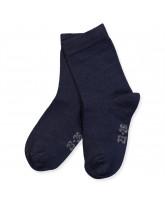 Navy bamboo socks