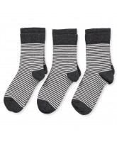 3 pack striped socks