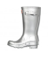 Silver wellies