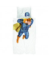 Organic Superhero bed linen