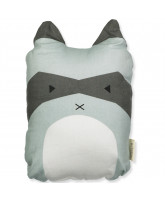 Rascal Racoon cushion