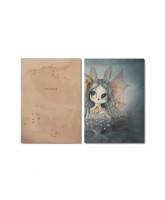 Miss Bianca notebook 2 pack - A5
