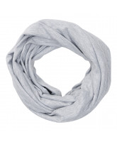 Grey tube scarf