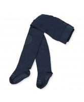Navy non-slip tights