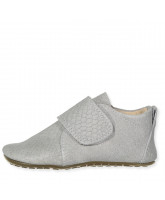 Grey croco slippers