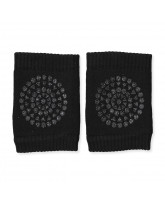 Black non-slip knee pads
