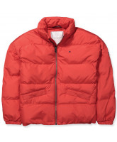 Red fashion winter jacket