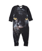 Organic Spicy panther playsuit