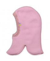 Rose wool fleece kids' balaclava
