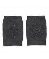 Dark grey non-slip knee pads