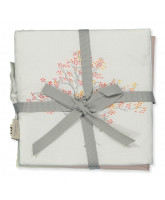 Organic Forest Theme fabric book