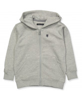 Grey zip sweat