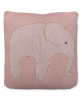 Rose pillow with elephant