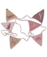 Pennant string with animals