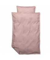 Organic cold rose bed linen