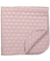 Organic cold rose baby blanket