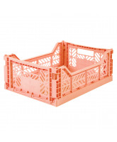Folding box midi - salmon