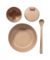 Bamboo dinner set in giftbox