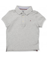 Grey polo t-shirt