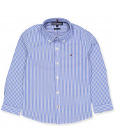 Blue striped shirt - boy