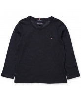Navy LS t-shirt - girl