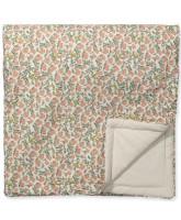 Floral Vine baby blanket