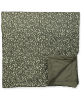 Floral Moss baby blanket