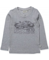 Organic grey LS t-shirt