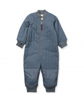 Blue waterproof thermosuit