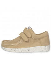 Beige suede shoes